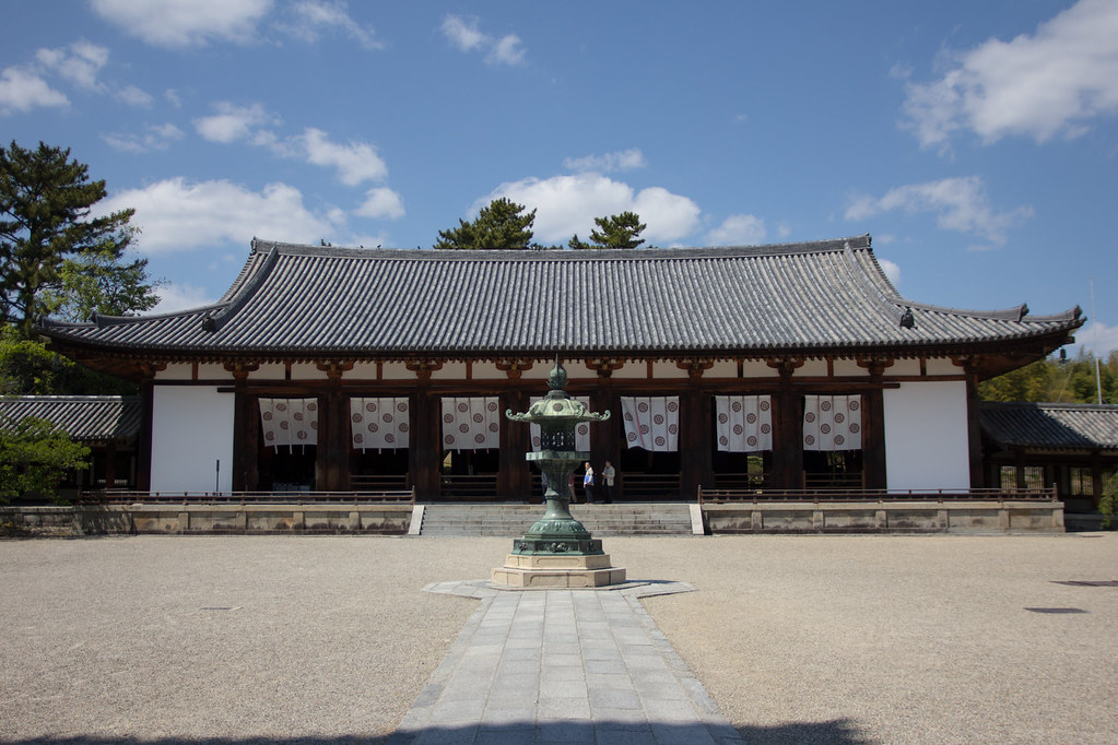 Temple Horyuji in Nara