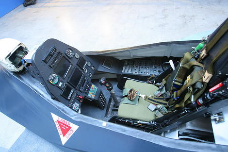 Q-313-cockpit-via-The-Aviationist