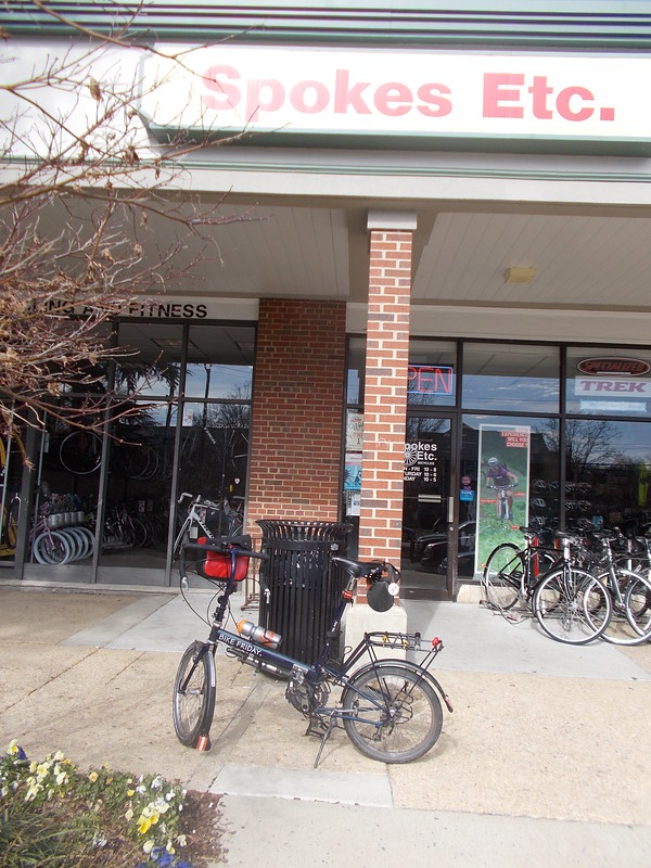 Errand 3: Little Nellie at Spokes in Belle Haven