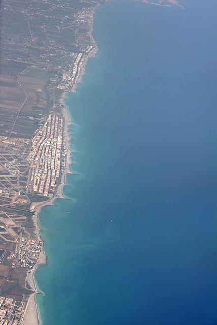 Spain coastline - aerial view 1