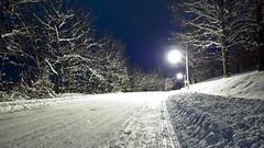 Snow; Winslow, Maine