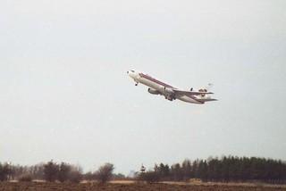 Thai Airways Leaving Copenhagen, 1997