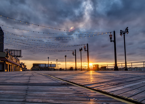Sunrise in Atlantic City | by RomanK Photography