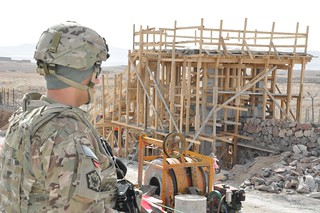 Progress at Afghan National Army construction site in Zabul | by USACE HQ