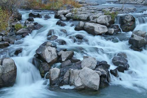 nature river waterfall stream falls timeexposure idaho