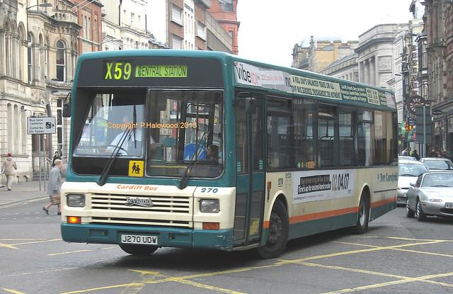 Cardiff Bus 270 (J270UDW)