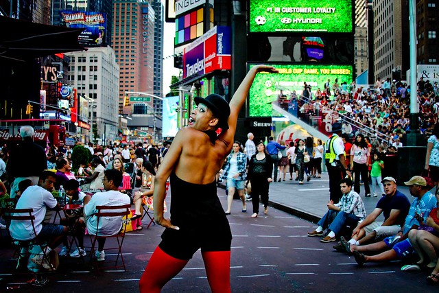 Burlesque in Time Square