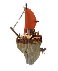 The Rivercrest, A Floating Rockship
