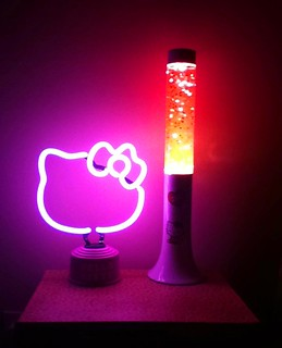Hello Kitty lamps | by Fluffyghost