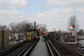 South Side Track Improvements   by Chicago Transit Authority