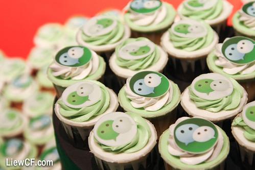 WeChat cupcake   by liewcf