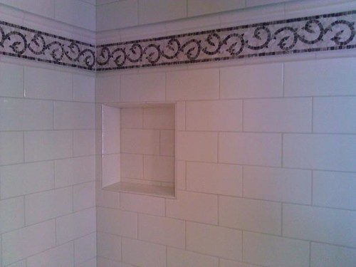 Ceramic subway tile