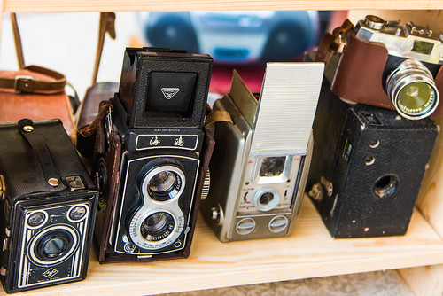 Antique Cameras | by CamelKW