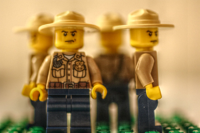 (7/52) Lego City's Rotating Sheriff
