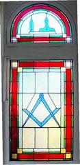 Lodge of Fidelity Lyndoch Road, window created 1999