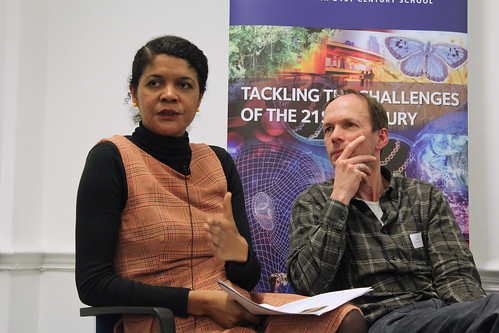 Chi Onwurah MP and Friends of the Earth's Mike Childs at Manipulating the Planet: Is there a role for Negative Emissions Technologies in tackling climate change?   by Policy Exchange