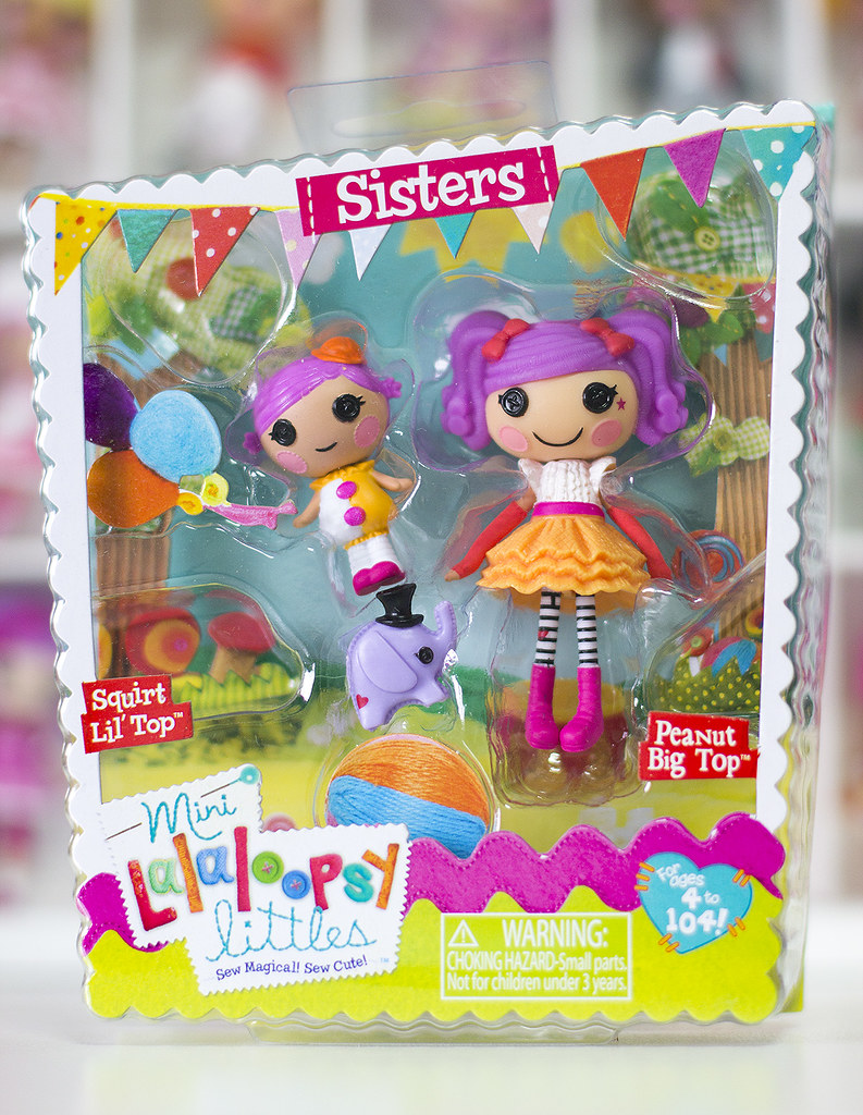 Lalaloopsy squirt Lil Top