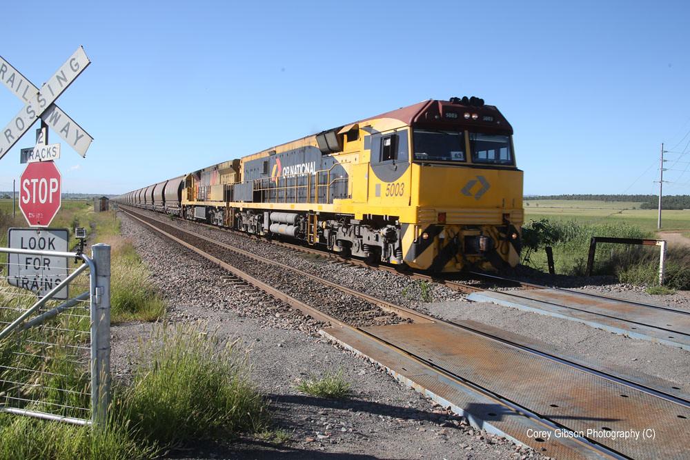 QRN Coalie 5003 near Singleton by Corey Gibson