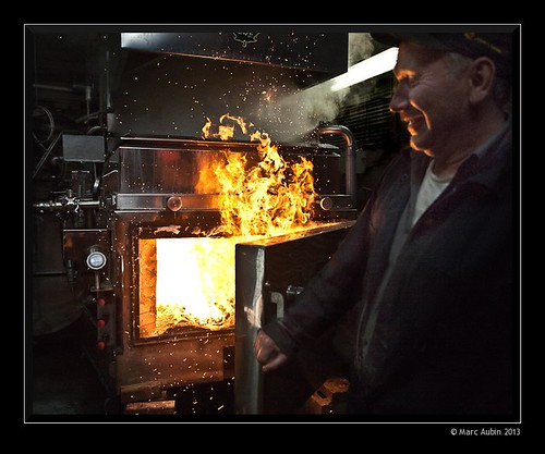 Firing up the maple syrup boiler | by Marc Aubin2009