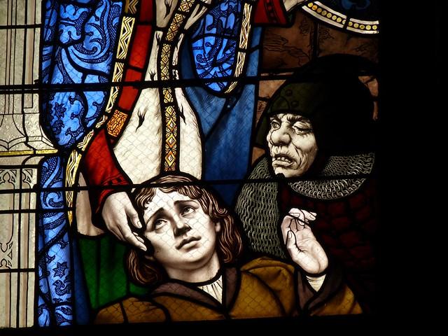 Vidrieras historiadas de la Catedral de Orleans (Viaje al Valle del Loira en Francia)