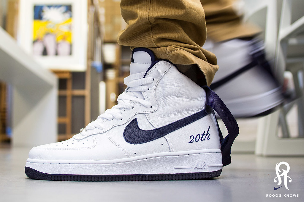 check out 7c55c 73f91 ... Air Force 1 High 2002 20th Anniversary   by Rooog Knows