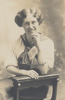 Smiling Young Edwardian Woman