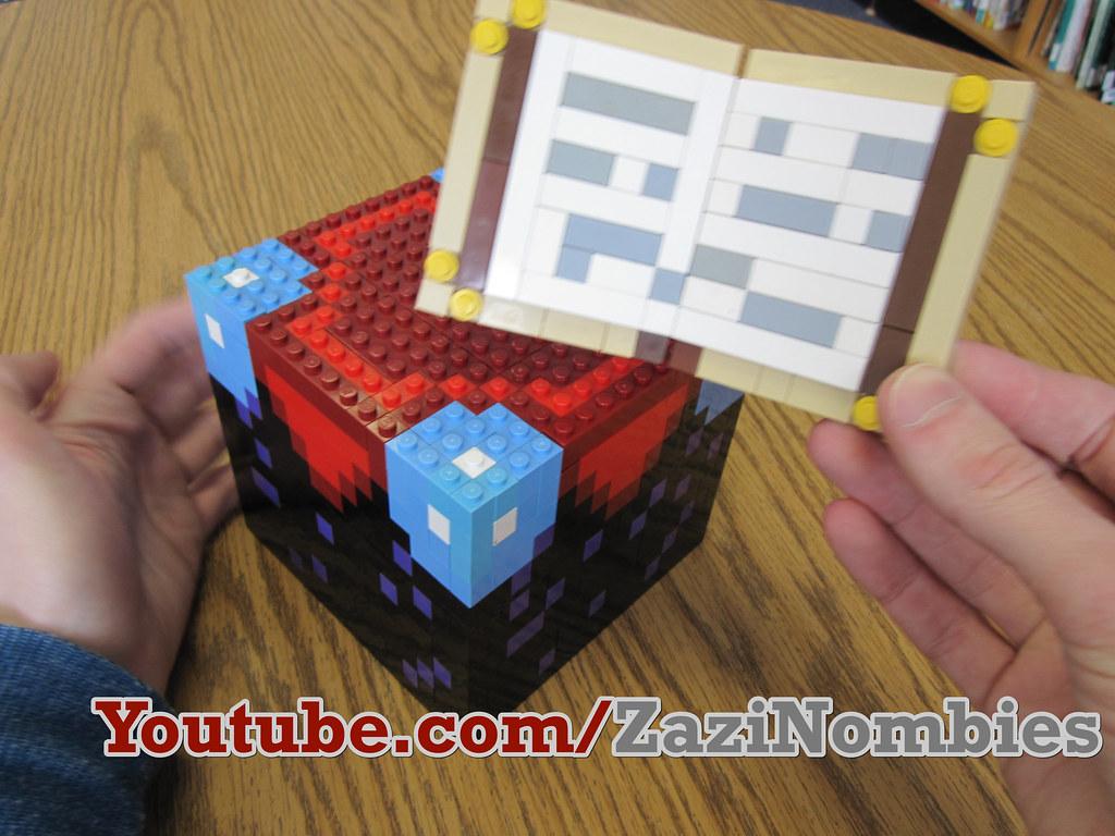 Lego Minecraft Enchantment Table The Minecraft Enchantment