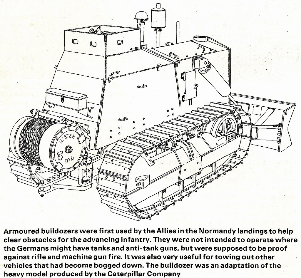 US Army Armoured Caterpillar D7 Bulldozer (World War II) | Flickr