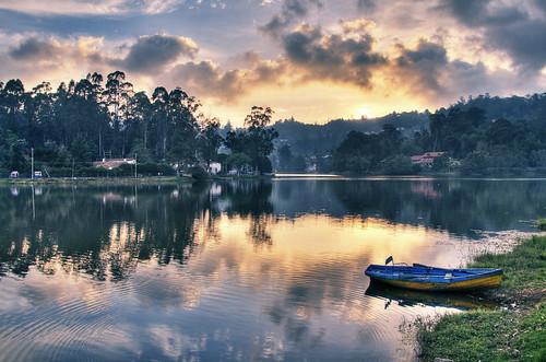 sky cloud india tree south kerala tamil nadu