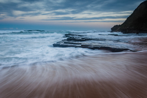longexposure sunset waves sydney australia nikkor northernbeaches turrametta turrimetta rockplatforms turametta