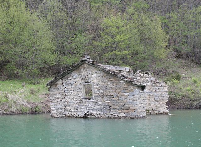 home in the water