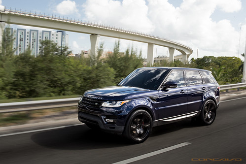 Range Rover Sport HSE on CW-6 Gloss Black | by Concavo Wheels
