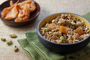Michael's Honey-Pear Granola with Pistachios | by Michael Beyer Photography