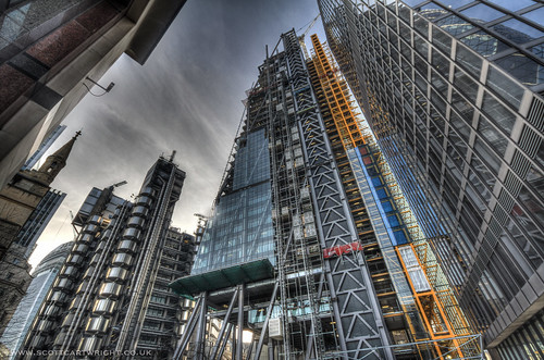 Leadenhall Building HDR
