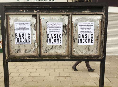 BASIC INCOME TRIPTYCH | by Mister Higgs