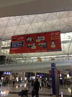 BoDW poster at HK airport