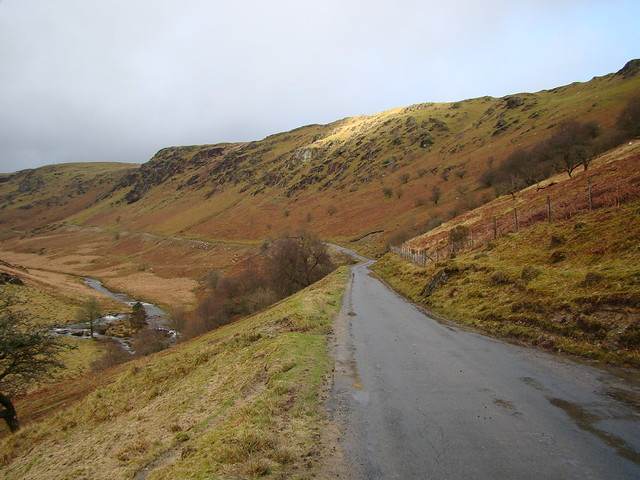 Comin Abergwesyn in late winter