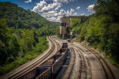 Coal-loading chute