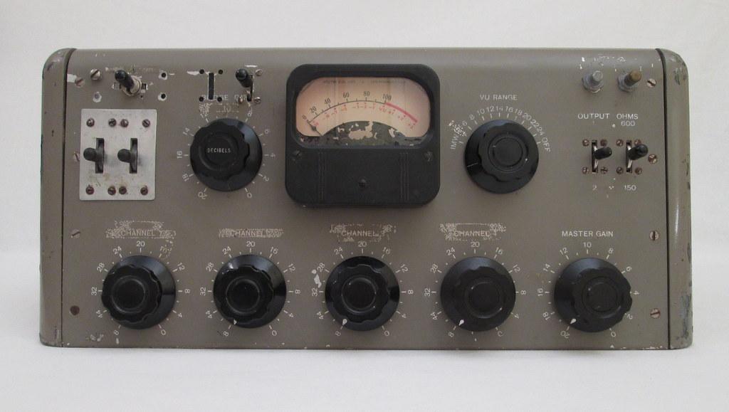 1950s Recording Studio Mixer / Mixing Desk | cinephonics | Flickr