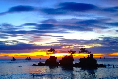 sunset seascapes boracay boracaybeachresort iphoneography