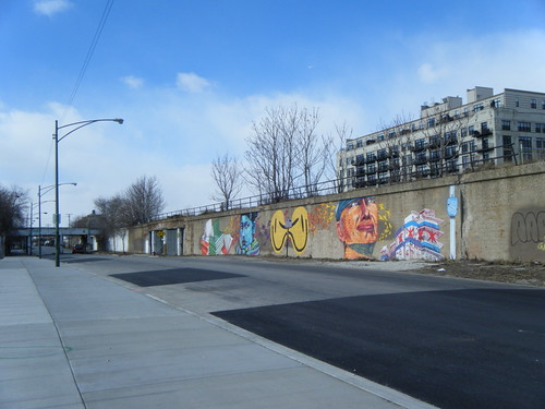 Murals on the railroad embankment along 16th Street | by Preetha & James