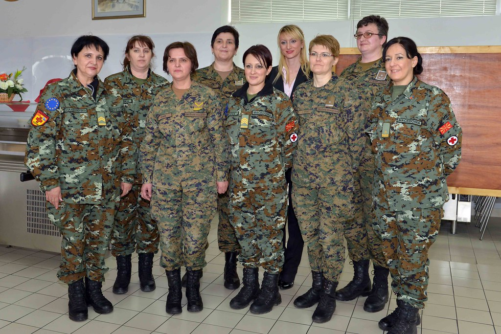 Celebrating Women's day 2013 iin EUFOR Althea HQ, Sarajev