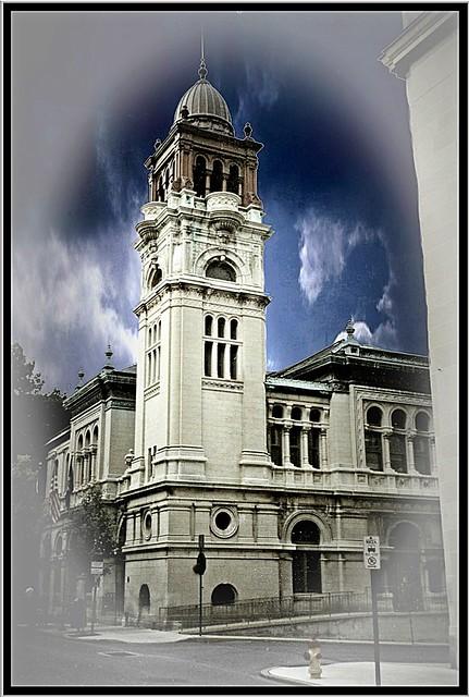 Lancaster City Hall ~ Lancaster Pa ~ Former Post Office ~ My Vintage Photo