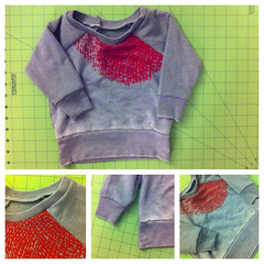 refashioned sweater