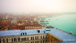 View of Venice from San Marco's Campanile | by KyliesFood