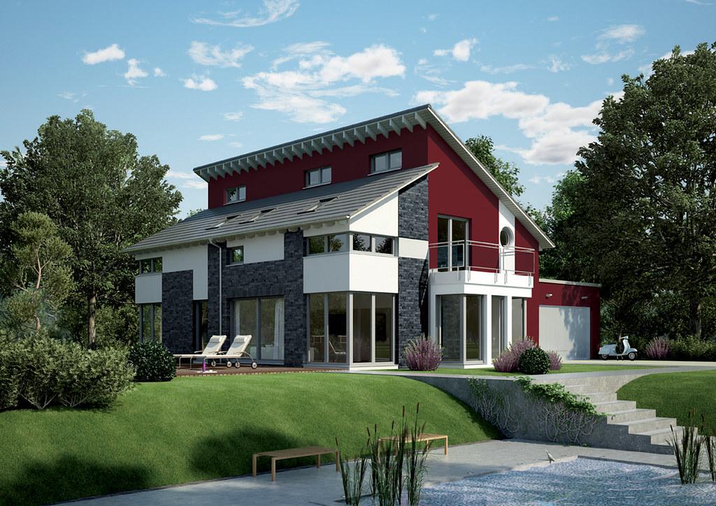 OKAL Haus GmbH - Bild 4 | Die eindrucksvolle Pultdach-Konstr… | Flickr