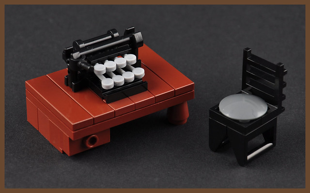 The Typewriter 2 – Front (H. P. Lovecraft's Study)