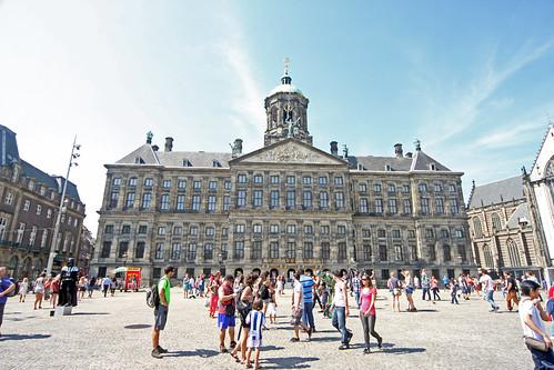 Amsterdam, Dam Square -  Nieuve Kerk (new Church)    -  IMG_3989 | by Bruce Tuten