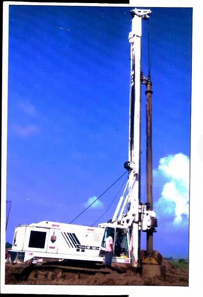 Hydraulic Piling Rig - MAIT HR-180   Shriram Automall - Hydr