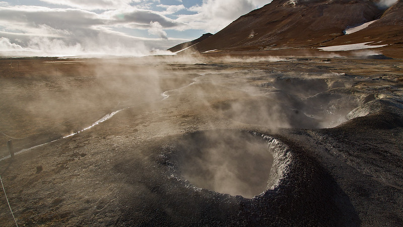 Mini volcano